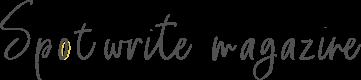 Spotwrite magazine
